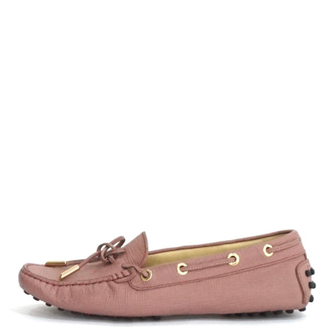 Tods Pink Loafers 36
