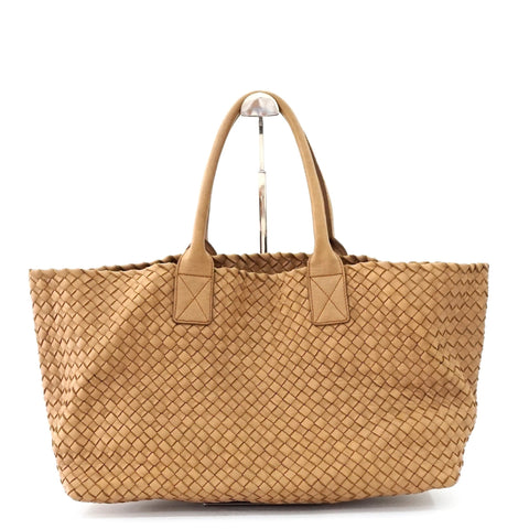 Bottega Veneta Camel Cabat Bag