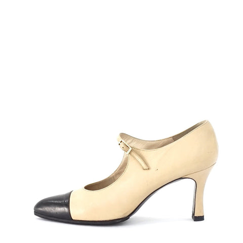 Chanel Mary Jane Pumps 37.5