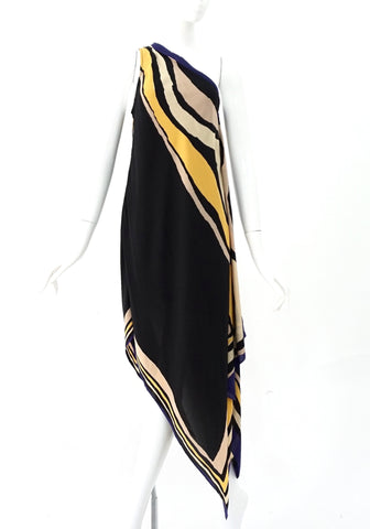 DVF One Shoulder Dress 2