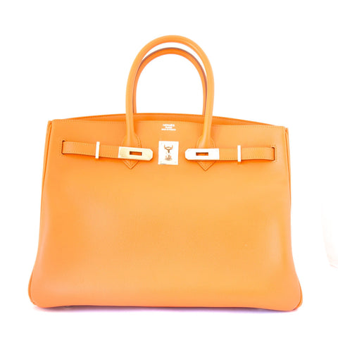 Hermes Birkin Orange 35