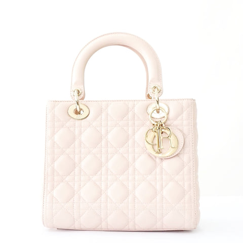 Christian Dior lady Dior Small Baby Pink