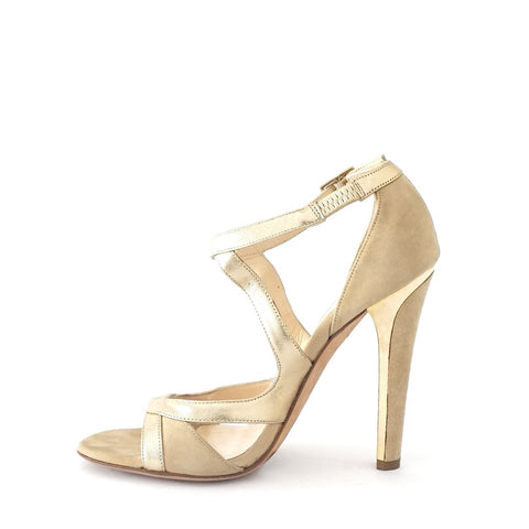Jimmy Choo Gold Sandals 35.5