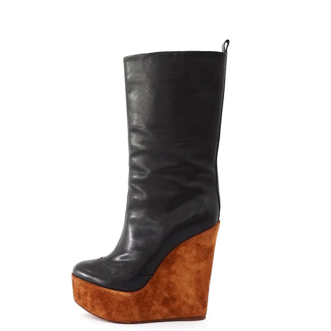 Celine Boots Wedges Size 38