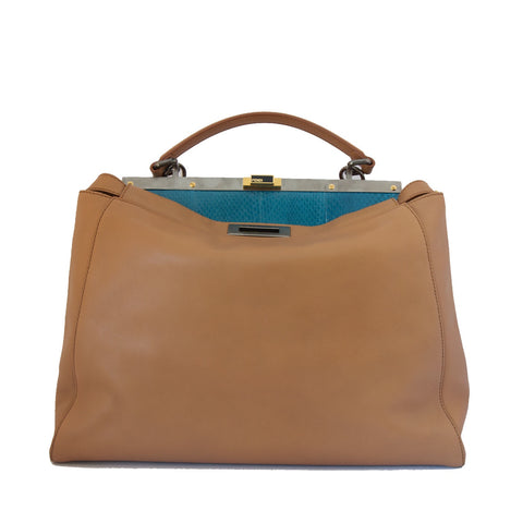 Fendi Brown Peekaboo Large