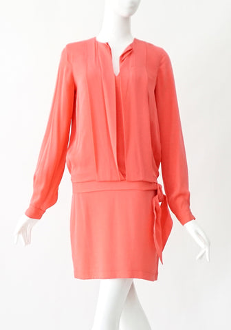Diane Von Furstenberg Pink Dress 0