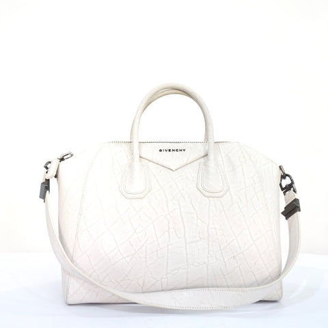 Givenchy White Antigona