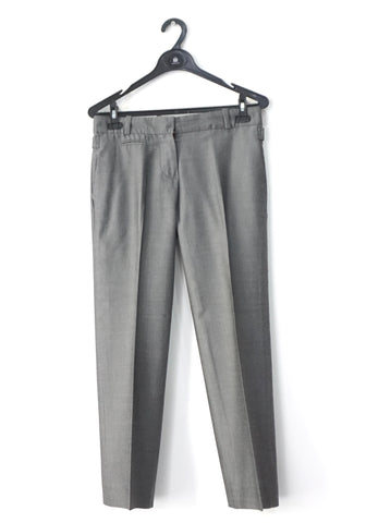 Chloe Grey Trousers 36