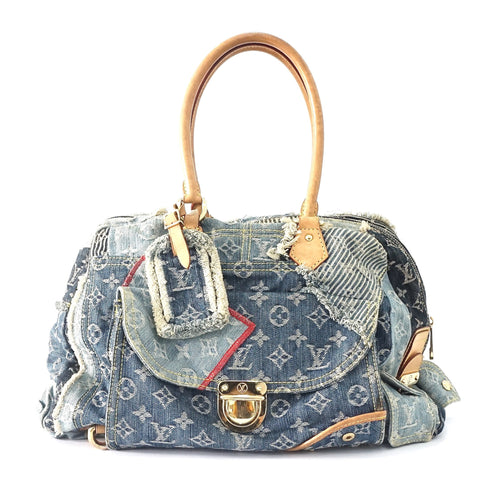 Louis Vuitton Patchwork Denim Bag