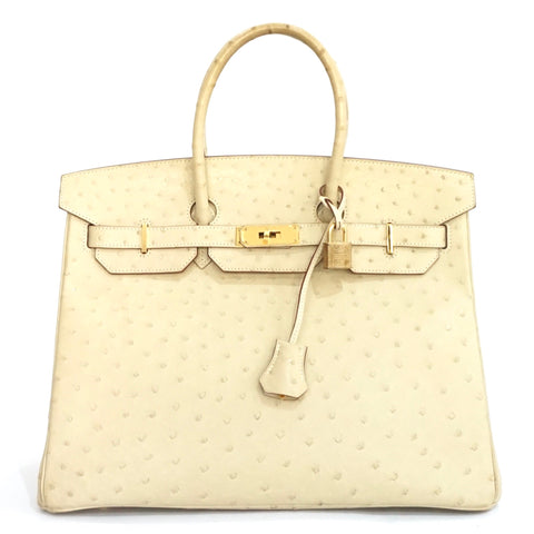 Hermes Birkin 35 Parchemin Ostrich GHW PRICE BY REQUEST