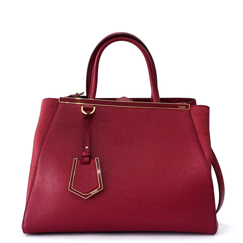Fendi Sac Two Jours Medium Ruby