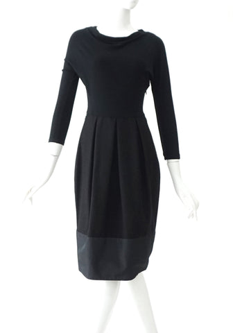 Maxmara Black Longsleeve Dress 40