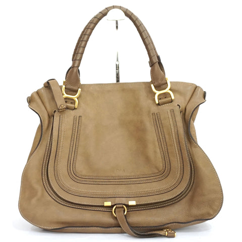 Chloe Marcie Large Brown Bag