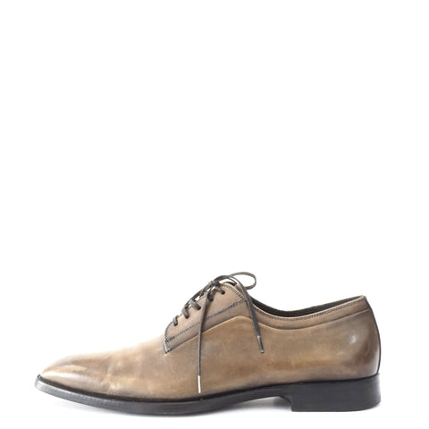 Christian Dior Brown Laceup Mens Shoes 38