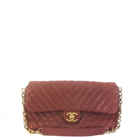 Chanel Chevron Flapbag