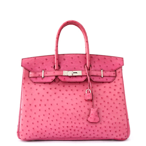 Hermes Birkin 35 Fuschia Ostrich PRICE BY REQUEST