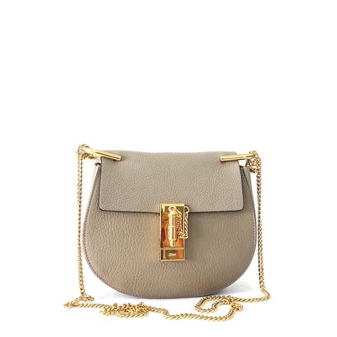 Chloe Drew Small Sling Bag Taupe