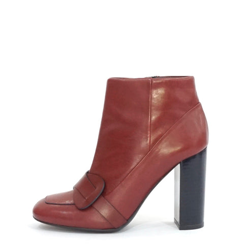Tory Burch Maroon Ankle Boots 7M