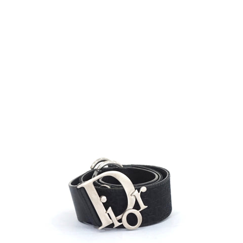 Christian Dior Black Belt 85