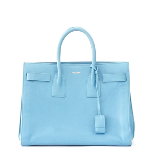 Saint Laurent Light Blue Small Sac De jour