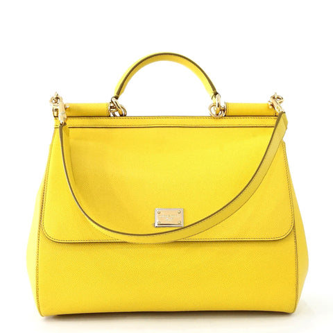 Dolce & Gabbana Yellow Shoulder Bag