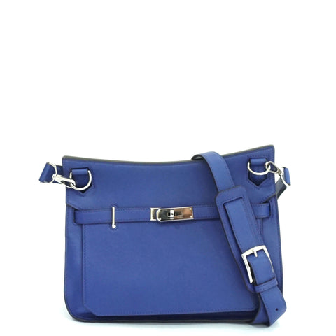 Hermes Jypsiere Blue Electric Swift Stamp O