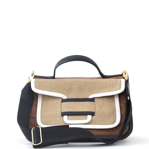 Pierre Hardy Brown Multicolor Alpha Bag