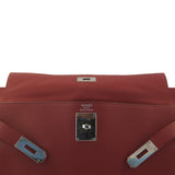 Hermes Shoulder Sanguine Red Kelly Fringe