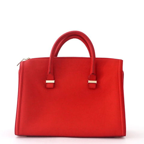 Victoria Beckham Red The Victoria Tote