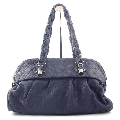 Chanel Blue Shoulder Bag