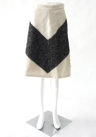 Adam Lippes Wool Grey Skirt 2