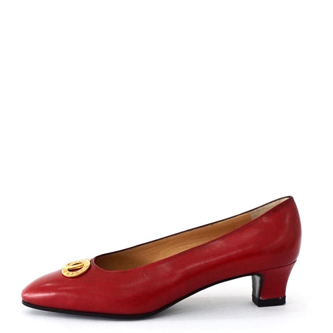 Celine Red Vintage Shoes 38.5