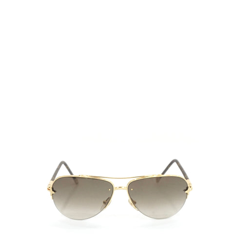 Louis Vuitton Petite Viola Pilot Sunglasses