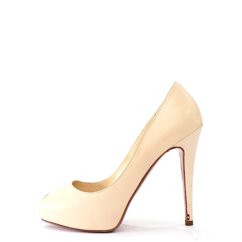 Christian Louboutin Nude Leather Pumps 36.5