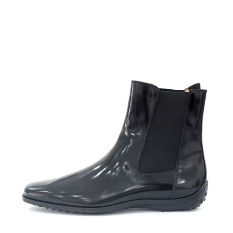 Tods New Black Quinn Booties 41