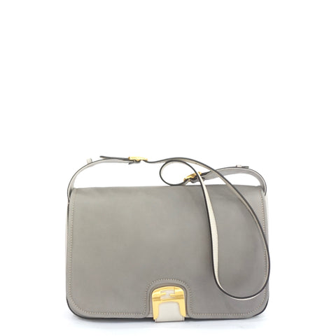 Fendi Chameleon Grey Messenger Bag