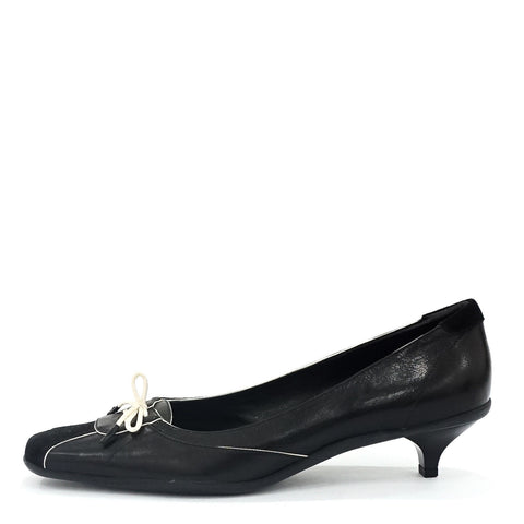 Prada Black Kitten Shoes 39.5