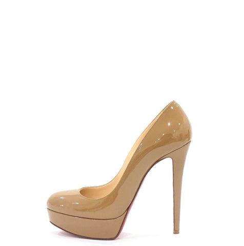 Christian Louboutin Nude Patent Pumps 39.5