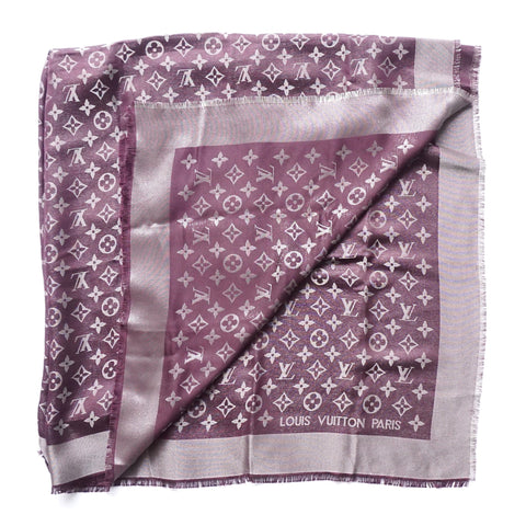 Monogram Shawl