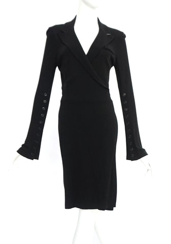Diane Von Furstenberg Black and White Dress 6