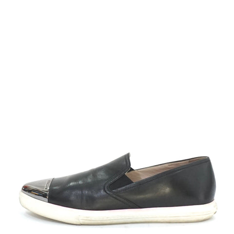 Miu Miu Black Slip-On 39.5