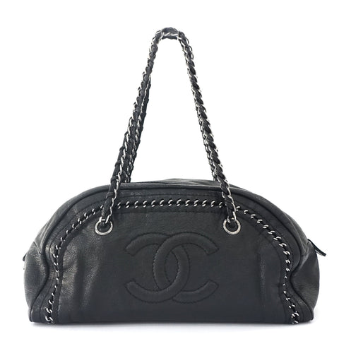 Chanel Black Lux Ligne Bag