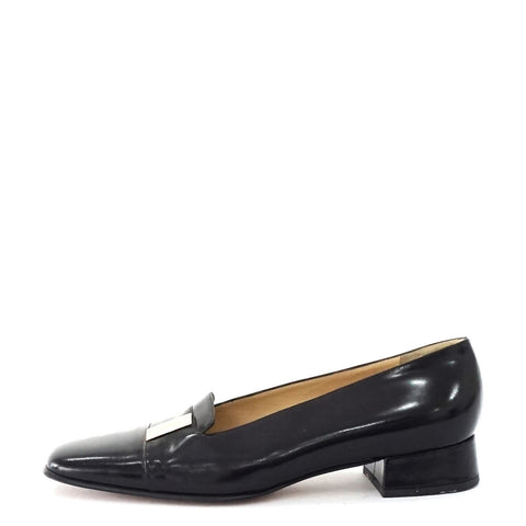 Gucci Black Vintage Pumps 8.5B