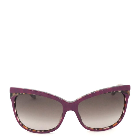Dior Purple Tortoise Sunglasses