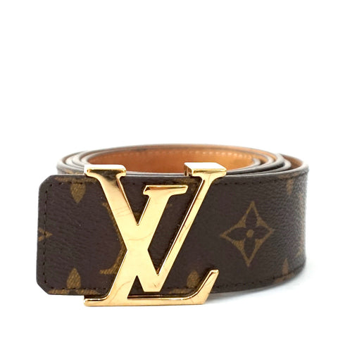 Louis Vuitton Monogram Mens Belt