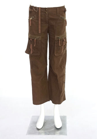 DKNY Cargo Brown Pants