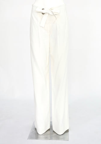 Chloe Flare White Pants 36