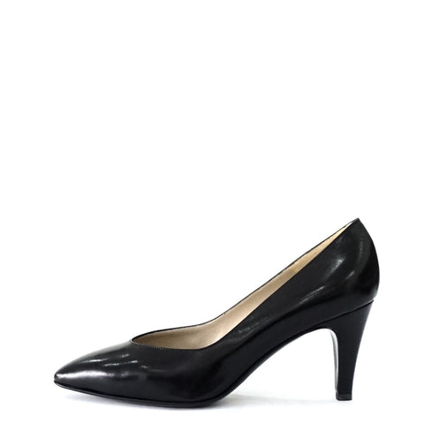 Bruno Magli Black Pointy Shoes 38