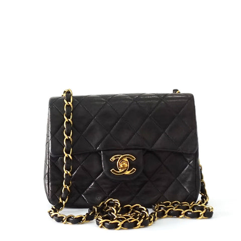 Chanel Vintage Mini Black Flapbag