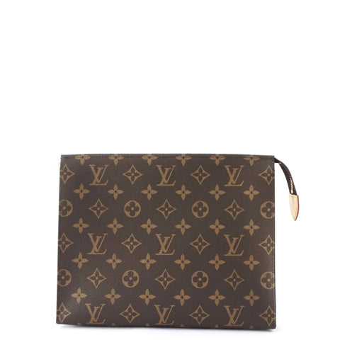 Louis Vuitton Monogram Clutch Zipper